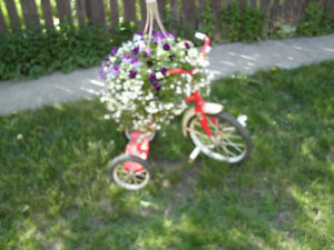 YE OLDE TRIKE with FLOWER