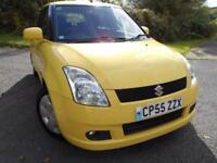 2005 55 SUZUKI SWIFT 1.3 GL 5D 91 BHP ** 1 OWNER FROM NEW , ONLY 63K **