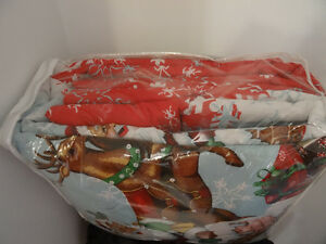 Santa Claus Bed in a Bag 8 pc set   Twin  New Kitchener / Waterloo Kitchener Area image 2