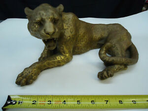New Bronze Cheetah Sculpture / Sculpture d'un guépard en bronze
