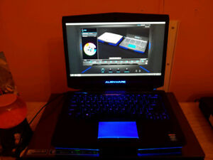 New gaming laptop Alienware 14 excellent condition