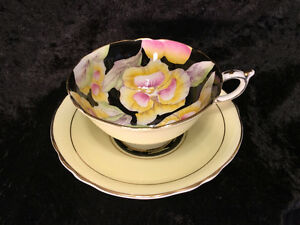 Paragon Fine Bone China Tea Cup and Saucer - Pansy