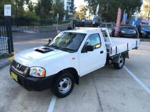2011 Nissan Navara DX Manual Ute turbo diesel 3 month Rego large tray Mount Druitt Blacktown Area Preview