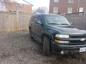 2001 Tahoe part out