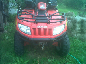 2005 Arctic Cat 500 Auto 4X4  ONE OWNER!!! LOW KMS!!! Oakville / Halton Region Toronto (GTA) image 2