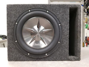 """10"""" Clarion Sub in Ported Box"""