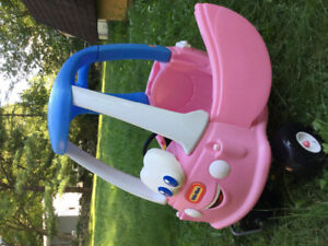 Pink Little Tikes Toddler Car