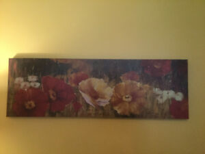 """Print on Canvas 59"""" X 19"""" - Looks Great Over Couch/Bed"""
