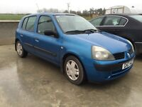 1 owner from new Renault Clio (corsa fiesta mini 206)