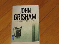 livre roman LA CONFESSION /JOHN GRISHAM littérature thriller