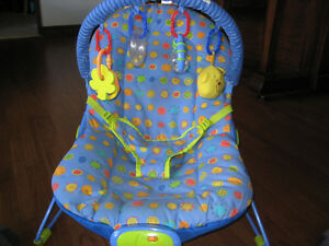 Bright Starts Baby Bouncer - bouncy seat for baby