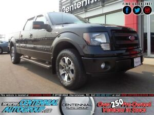 Ford F-150 FX4 | 4x4 | SuperCrew | Bluetooth | Side Rails 2013