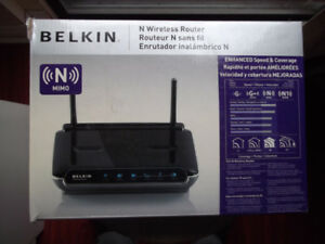N Wireless Router BELKIN