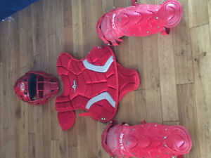 Catcher Gear (youth) and Easton bats