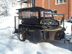 2015 Argo 8 x 8 Frontier EFI and trailer