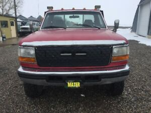 1995 Ford F350 XLT Turbo Diesel Flat Deck
