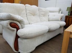 Fabric 3 piece suite
