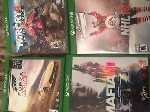 4 Jeux XBOX ONE