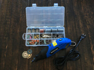 Mastercraft Rotary Tool with EXTRA BLADES