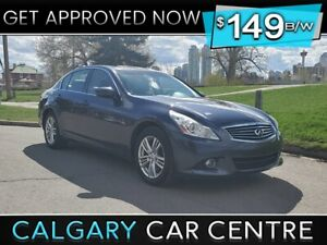 2012 G37X $149B/W TEXT NOW FOR EASY FINANCING! 587-500-0471