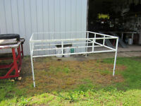 Hay Rack for Horse Trailer