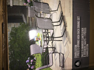 7 piece patio set... New in box