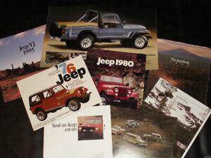 DieCast -Brochures d'automobiles, Prospectus, Affiches (Posters)