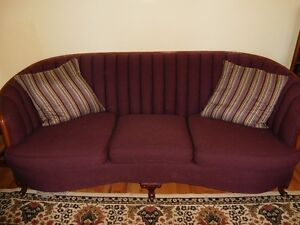 Antique sofa and chair 1920's