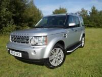 Land Rover Discovery 4 3.0TDV6 (242bhp) 4X4 HSE Station Wagon 5d 2993cc Auto