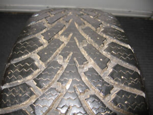 4 GOOD YEAR NORDIC WINTER TIRES 195-60-R15