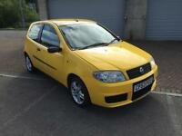 53 reg Fiat Punto 1.2 8v Active Sport 2 Door Daytona Yellow
