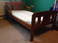 John Lewis toddler bed and mattress