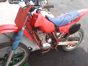 1983 honda cr 125 with 250cc 4stroke