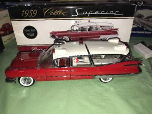 Ambulance Cadillac 1959 précision 100 diecast 1/18 die cast