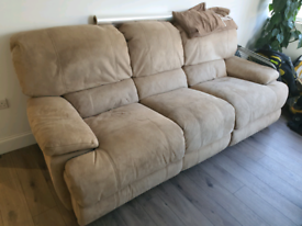 Sofa double recliner FREE to collect