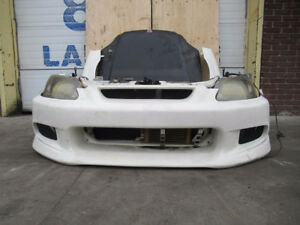 2000 JDM HONDA CIVIC TYPE R FRONT END HOOD BUMPER FENDERS
