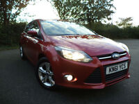 Ford Focus 1.6 TI-VCT ( 125ps ) 2011.25MY Zetec Alloys Full History