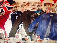JOB LOT OF BOYS CLOTHING & FOOTWEAR AGE 9-10