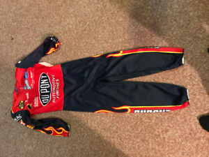 Race car driver suit costume kids