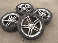 "17"" Peugeot / Citroen Stromboli Alloy Wheels"