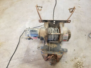 Honda 450 foreman winch and mount works great