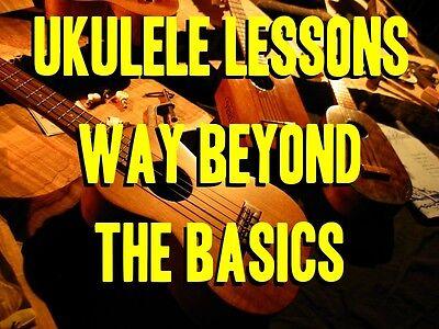 Ukulele Lessons Way Beyond The Basics DVD. 2 Hours. Be The Best Uke Player (The Best Ukulele Strings)