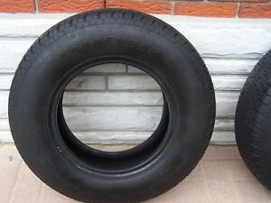 TRAILER TIRES---GOODYEAR MARATHON  ST 205/75R14   $75/PAIR