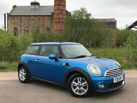 2011 MINI HATCH ONE 1.6 ONE PIMLICO (MAIN DEALER SERVICE HISTORY)