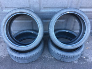 Bmw Mercedes Audi tires continental sport  225-255 19""