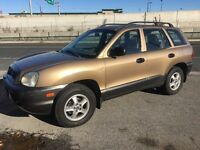 2002 Hyundai Sante Fe Certified and Etested All Credit Approved