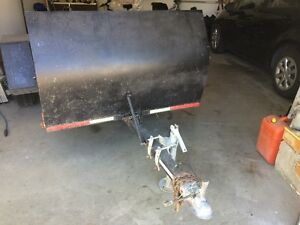 Motorcycle /utility trailer
