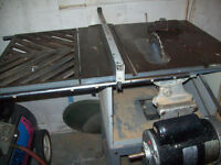 Rockwel/Beaver Table saw with new motor