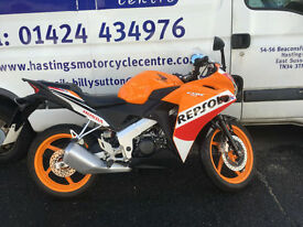 Honda CBR125R Repsol Sports Bike / Nationwide Delivery / Finance