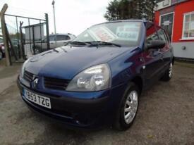 2003 Renault Clio 1.2 16V Expression 5dr FSH,2 keys,Low mileage,12 months mot...